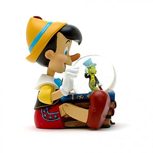 Disneyland Paris Pinocchio Musical Snow Globe