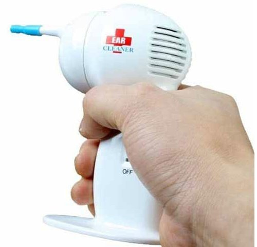 - New WaxVac Electric Ear Vacume Cleaner Soft Wax Remover Painless Cordless Safety