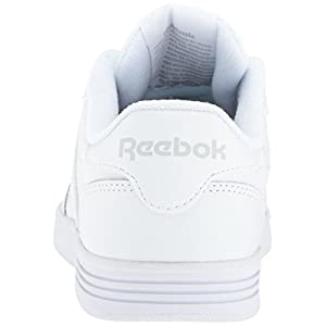 Reebok Women's Club Memt Track Shoe,White/Steel,7.5 M US