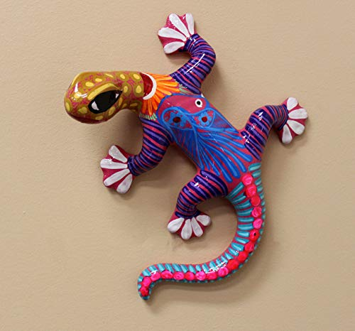 Majolica Pottery - Medium Gecko 8
