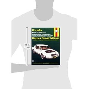 Chrysler Full-Size Front Wheel Drive Automotive Repair Manual (Haynes Repair Manuals)