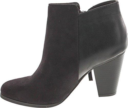 Image of SODA Women's Ages Tassel Zip Chunky Heel Bootie