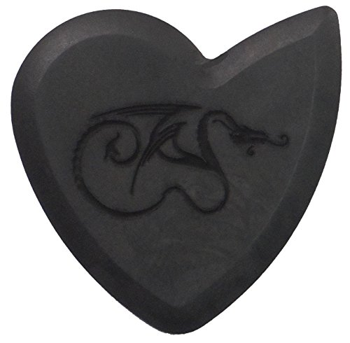 GT Dragon's Heart Guitar Pick - 1400 Hours of Durability, 2.5mm Thickness, Single Pack by Dragon's Heart Guitar Picks (Image #2)