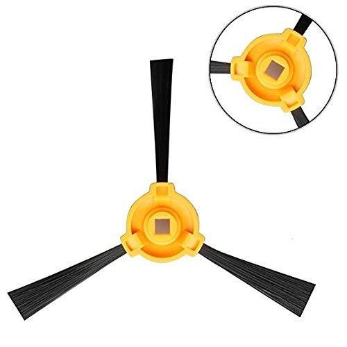 Timi-Kit de Accesorios de Limpieza para Robots aspiradores Conga Excellence: 4 cepillos Laterales 1 Filtro EPA 1 Filtro Malla, 1 Cepillo Central