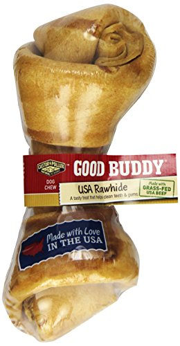 [Castor & Pollux Good Buddy USA Rawhide Bone, One 6-7 Inch Bone (Pack of 12)] (Pollux Rawhide)
