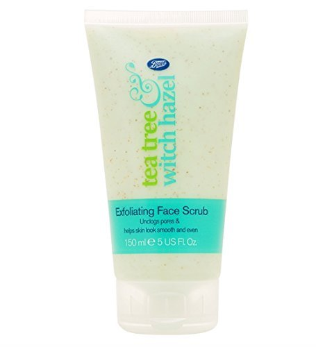 Boots Tea Tree and Witch Hazel Exfoliating Face Scrub 150...