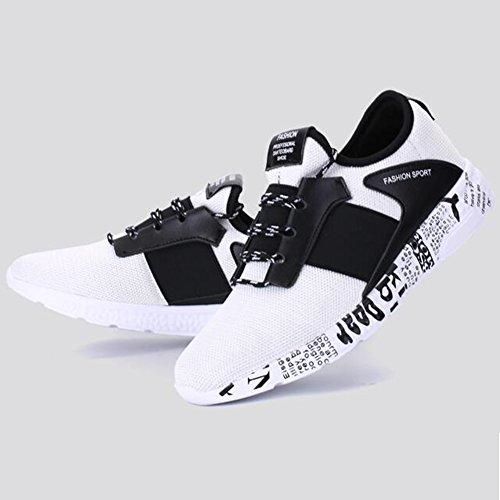 YIXINY Wild 2 CN41 Größe Koreanische Teens und Frühling 2 Farbe Version Mesh Platte Laufschuhe Schuhe UK7 Sneaker EU40 Sport Unbekannt Schuhe Freizeitschuhe XxwX1d