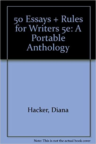 Amazon.com: 50 Essays and Rules for Writers 5e: A Portable ...