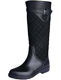 Rain Boots Snow Boots for Womens Fashion Waterproof Warm...
