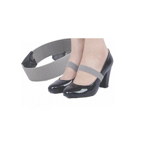 Colored Elastic Shoe Strap Lace Band for holding loose high heeled shoe,decor