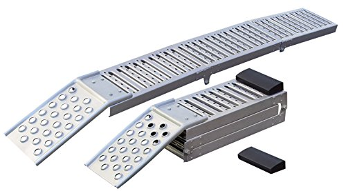 Folding Car Ramps (Larin FSR-2SL Folding Steel ATV/Truck Ramp)