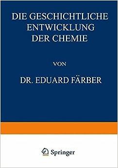 Book Die Geschichtliche Entwicklung der Chemie