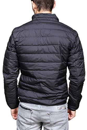 Light Shield Down EA7 Armani Train Active Core Black Emporio Jacket Men's 0TZY01z