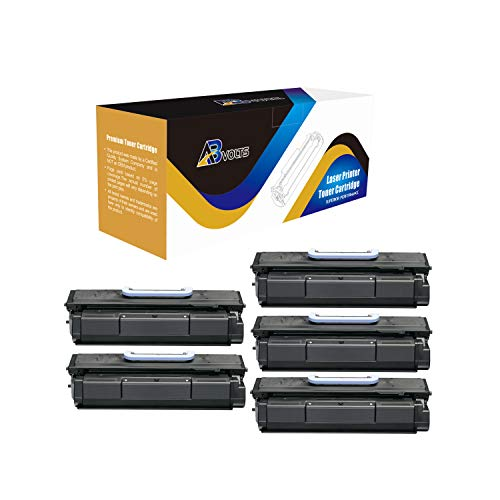 Imageclass Mf7460 Laser - AB Volts Compatible Toner Cartridge 105 for Canon 105 ImageClass D7280 Bubble Jet BJC 411F Laser ImageClass 7280 Multi Function ImageClass MF7460 MF7470 | Rated for 10000 Pages - 5 Pack Black