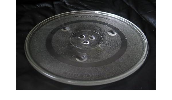 Sanyo microondas de cristal Tocadiscos placa/bandeja 12 3/8 en P34 ...