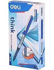قلم ديلي رولر 0.7 مم رفيع 20530 (عبوة من 12 أزرق)