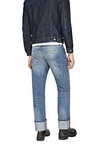 Jeans Blu Replay Waitom 308 Blue Denim fAgf0nwq