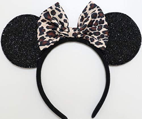 Leopard Mickey Ears Lion King Animal Kingdom Ears Mickey Ears Cheetah Mickey Ears Cheetah Minnie Ears Ears Minnie Ears Leopard Minnie Ears