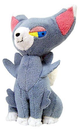 Pokemon Jakks Pacific Series 5 Mini Plush Glameow (Sitting -