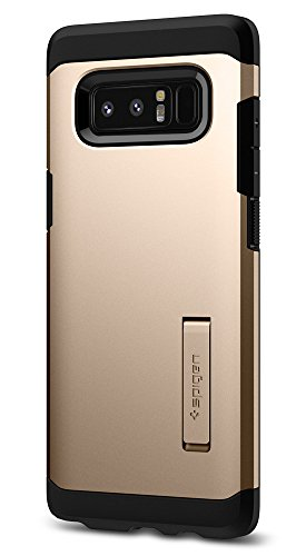 Spigen Tough Armor Galaxy Note 8 Case with Kickstand and Extreme Heavy Duty Protection and Air Cushion Technology for Galaxy Note 8 (2017) - Maple Gold