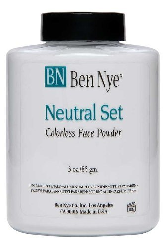 Ben Nye Classic Translucent Face Powder 3 Oz Neutral Set Face Powders - Set Powder