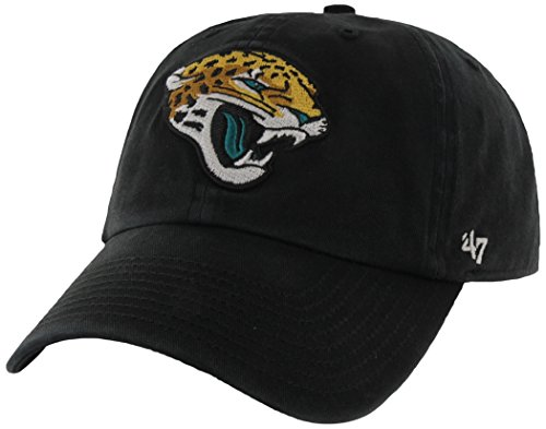 nfl-jacksonville-jaguars-clean-up-adjustable-hat-black-one-size-fits-all-fits-all