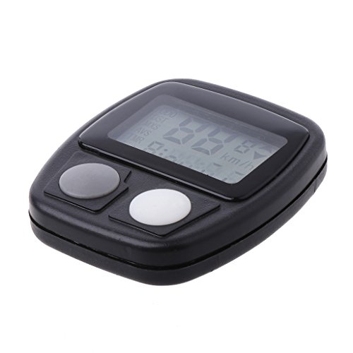 BetterM Waterproof 14 Function LCD Bike Speedometer, for Cycling Speed Meter Recording