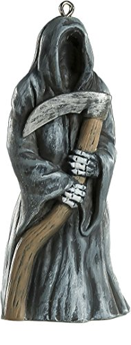 Reaper / Death Horror Ornament - Scary Prop and Decoration for Halloween, Christmas, Parties and Events - By HorrorNaments - Halloween Horror Decorations