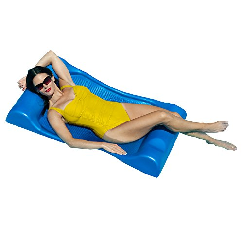 - Deluxe Aqua Hammock Pool Float - 48 in. x 27 in. - Blue