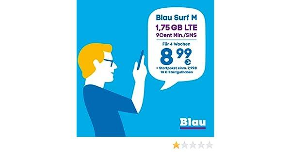 Blue Surf M (Sim, Micro-Sim Y Nano-Sim) Sin Período De ...