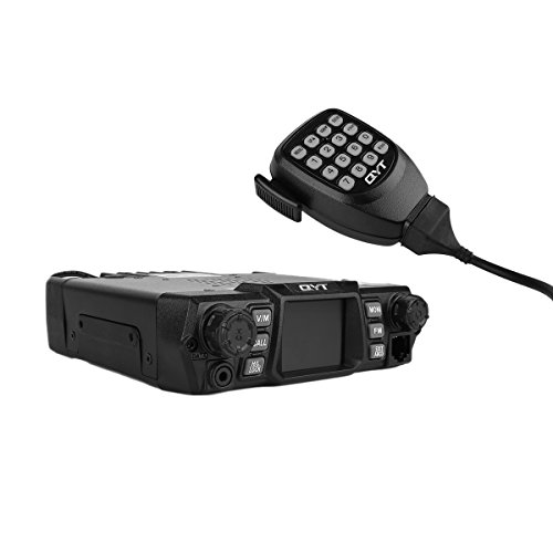 QYT KT-980 Plus VHF 136-174mhz UHF 400-520mhz 75W Dual Band Base Mobile Car Radio Hamd Walkie Talkie Transceiver Amateur, Quad-standby + Programming Cable, Colorful LCD Display by QYT (Image #3)