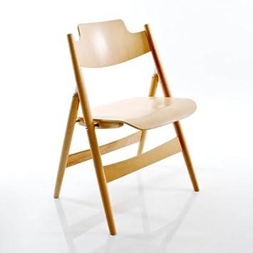 Wilde + Spieth Eiermann SE 18 - Silla plegable madera haya ...