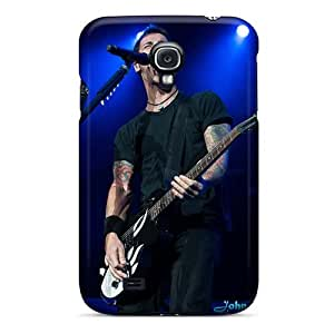 Scratch Protection Cell-phone Hard Cover For Samsung Galaxy S4 (mre14512kGdT) Provide Private Custom Vivid Godsmack Band Pictures