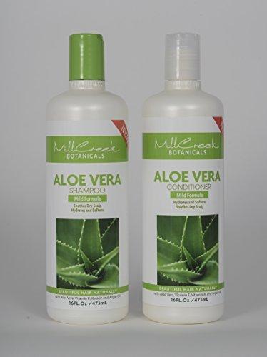 Mill Creek Botanicals Aloe Vera shampoo and conditioner (Aloe Botanical Conditioner)