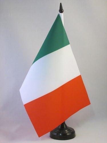 AZ FLAG Bandera de Mesa de Italia 21x14cm - BANDERINA de DESPACHO Italiana 14 x 21 cm: Amazon.es: Jardín
