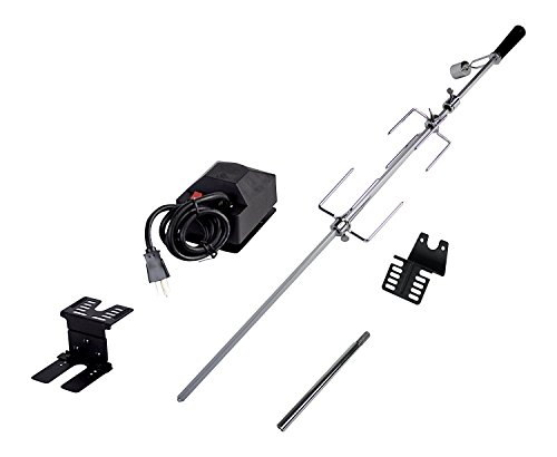 Dyna-Glo DG4WB Universal Deluxe Rotisserie Kit for Grills (3) by Dyna-Glo