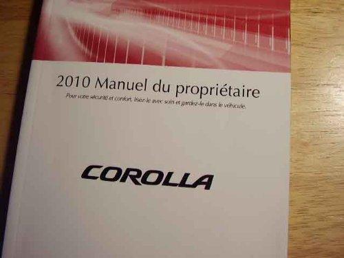 2010 toyota corolla owners manual - 5