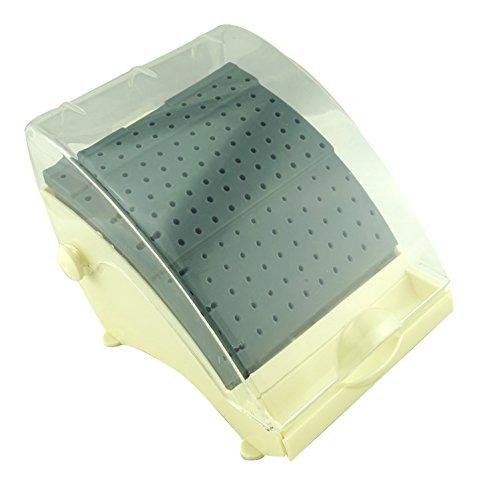 Vinmax Dental Plastic Bur Holder Burs Block Case Box 142 Holes