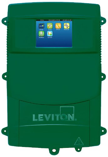 Leviton A8814-4S3 EMH Plus Data Acquisition Server with 3 Phase Meter, 400A CT