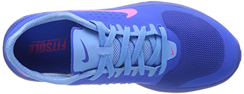 Nike Womens Fs Lite Run Hypr Cblt / Hypr Pnk / Unvrsty Bl Sportschoen 5.5 Dames Us
