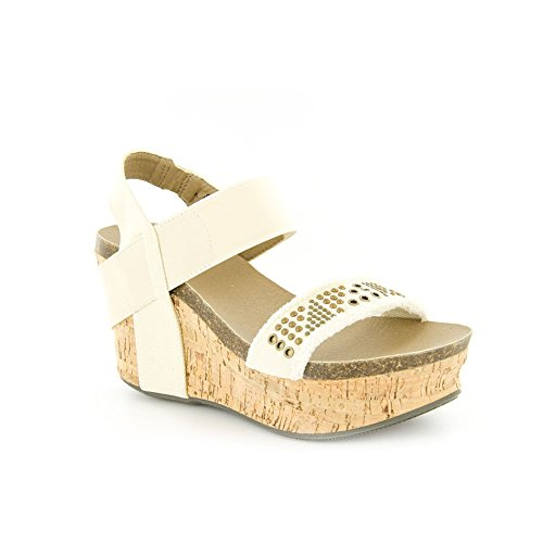 c1415fa8caded Corkys New Frayed Natural 9 Womens Sandals