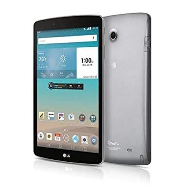 "LG G Pad V495 16G 8.0"" 8-inch WiFi and 4G LTE Unlocked GSM Android Tablet (Certified Refurbished)"