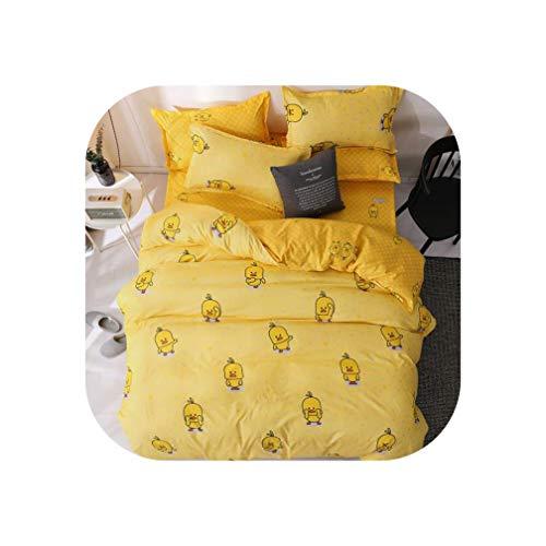 QianQianStore 2019 Grey Bedclothes Bed Linen Snowflake Cotton Bedding Set Winter bedsheets Duvet Cover Sets,as picture16,Full Size (4pcs)