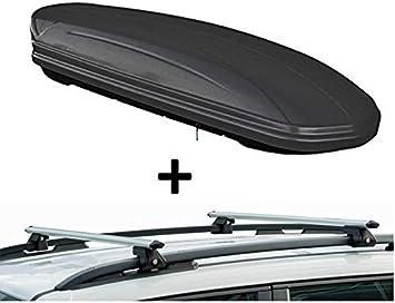 Dachbox Vdpmaa320 320ltr Abschließbar Schwarz Matt Dachträger Crv120 Kompatibel Mit Peugeot 2008 5 Türer Ab 2013 Auto
