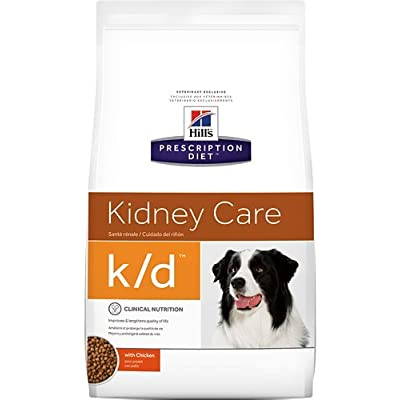 Hill's Prescription Diet k/d Kidney Care with Chicken Dry Dog Food 17.6 lb