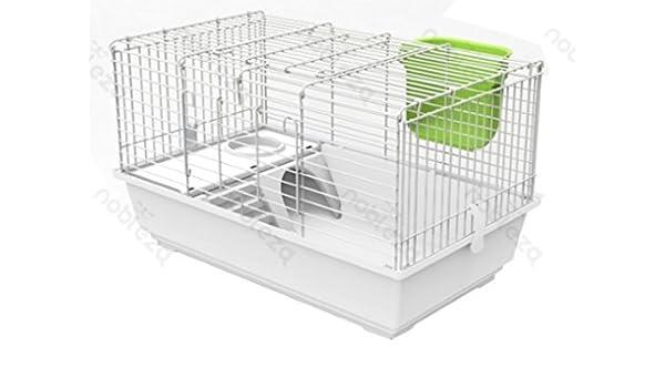 FORPET® - Jaula para conejos con accesorios, comedero cód ...