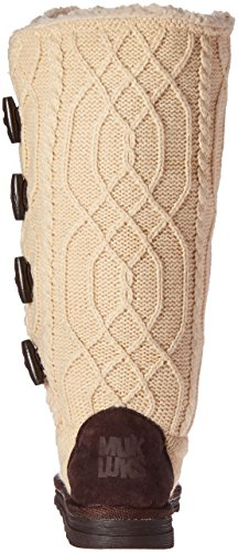 Muk Luks Womens Felicity Slipperboot Winter Boot Cream