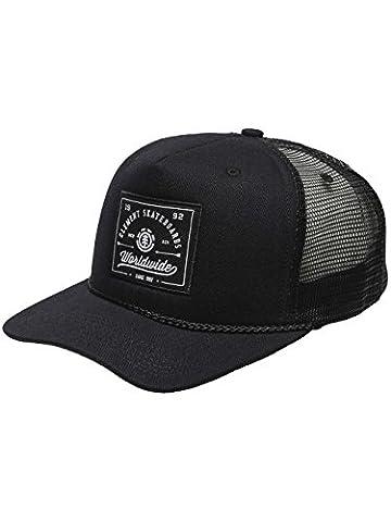Element Trigger Trucker Cap - All Black