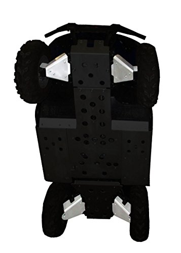 5-Piece A-Arm/CV Boot Guard Set, Yamaha Rhino (Boot Rhino Aluminum)