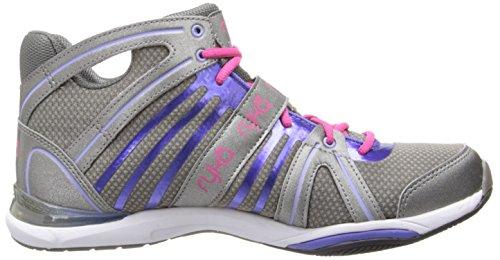 De orina ryka City de fitness para mujer calzado zapatillas de deporte zapatos de baile - gris/rosa